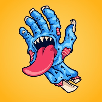 Zombie hand monster