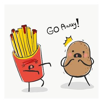 Zombie potato