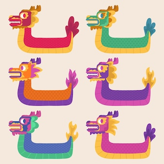 Лодки драконов zongzi pack