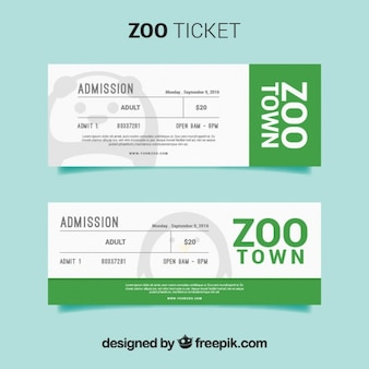 동물원 티켓 팩