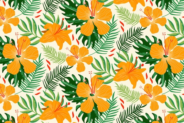 Zoom summer pattern background