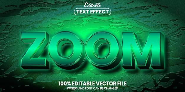 Масштабирование текста, редактируемый текстовый эффект стиля шрифта