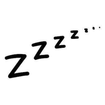 Значок сна zzz.