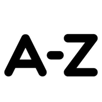 Alphabetisch sortieren