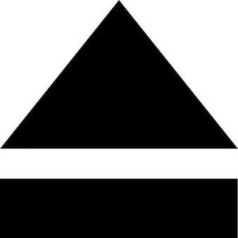 Auswerfen-symbol