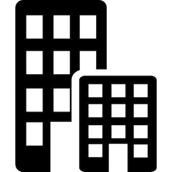 Büros Gebäude