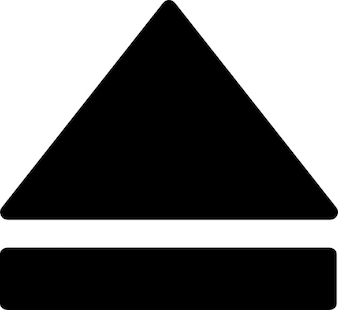 Cd auswerfen symbol