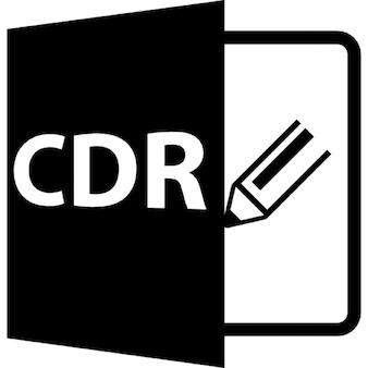 Cdr-Dateiformat Symbol