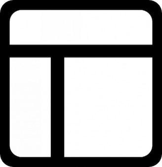 Display mit drei bereichen