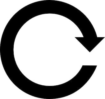 Drehen symbol