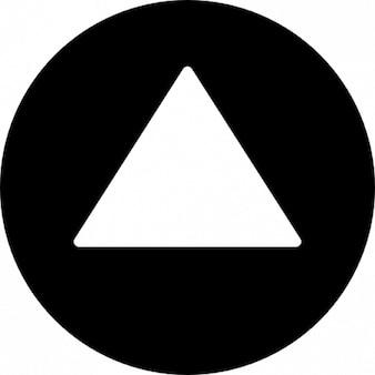Dreiecks in einem kreis punkt bis