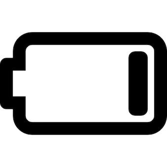 Fast leere batterie