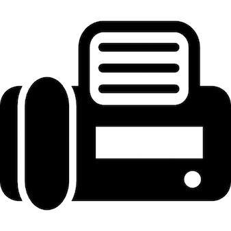 Fax Draufsicht
