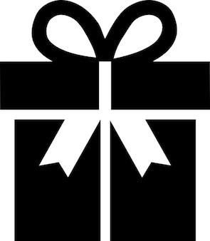 Geschenk-box mit großen bogen