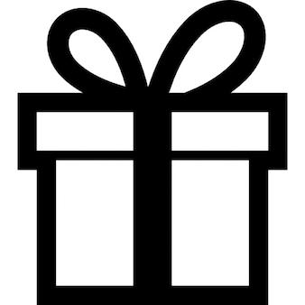 Geschenk große Kiste