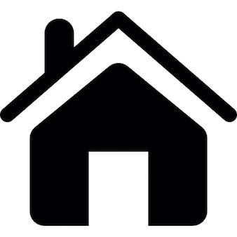 Haus frontal Gebäude