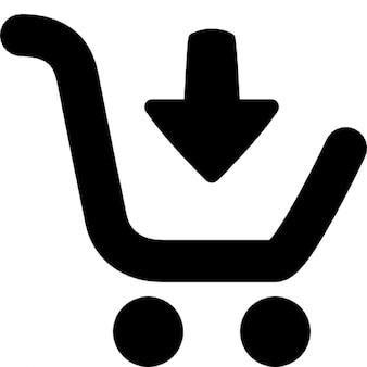 In den warenkorb legen (online-shopping)