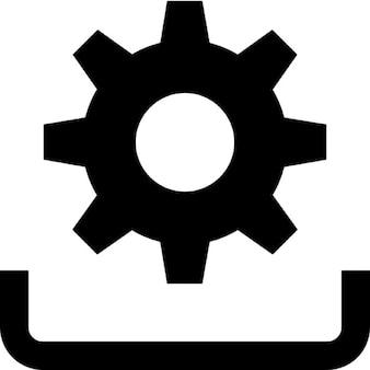 Installieren symbol