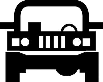 Jeep 4x4 fahrzeug