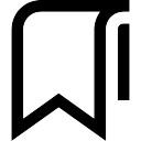 Lesezeichen Symbol