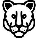 Lion Kopf frontal