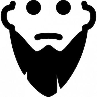 Mann mit dem langen bart
