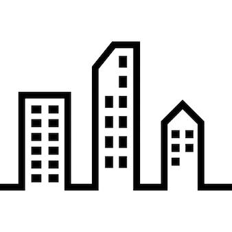 Moderne Gebäude in der Stadt
