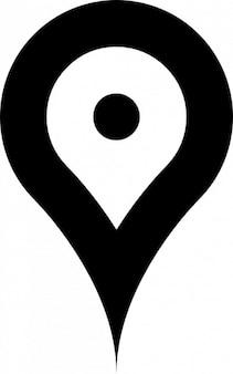 Pin für karten und geolokalisierungssysteme