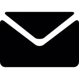 Schwarzen Umschlag
