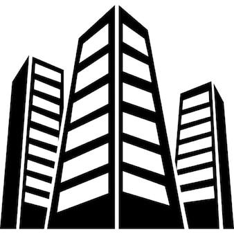 Städtischen Gebäuden