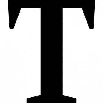 T großbuchstaben