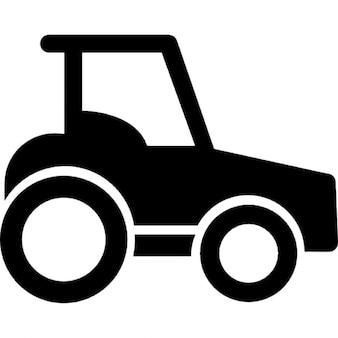 Traktor Seitenansicht