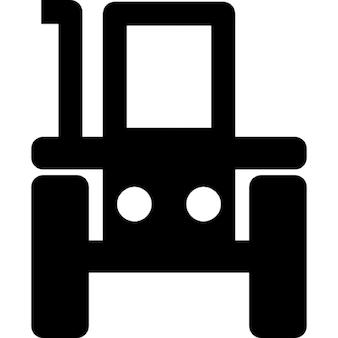 Traktor vor