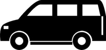 Van. großes auto