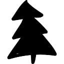 Weihnachtsbaum Doodle