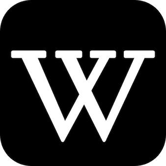 Wikipedia schriftzug