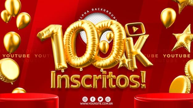 100.000 youtube-abonnenten