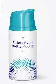 100 ml airless pump bottle mockup