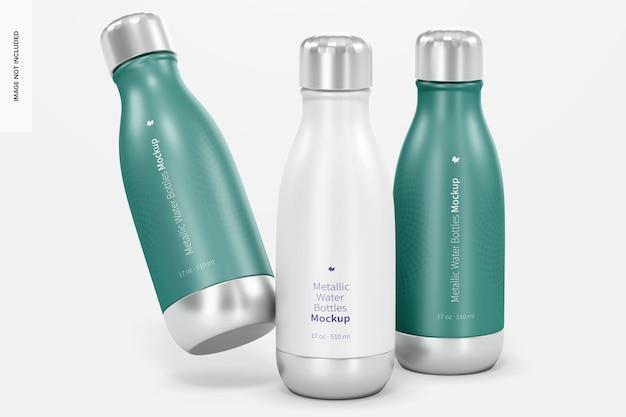 17 oz metallic wasserflaschen modell