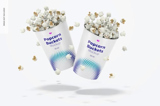 32 unzen popcorn eimer modell, fallend