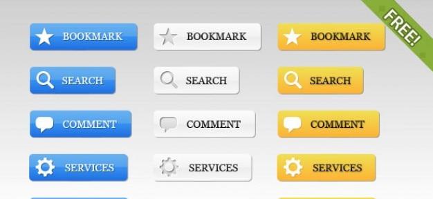 39 gratis web 2.0 buttons