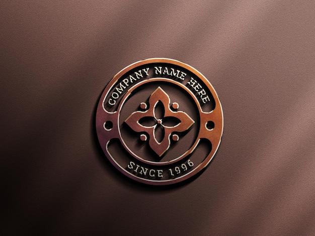 3d buntes logo-modell