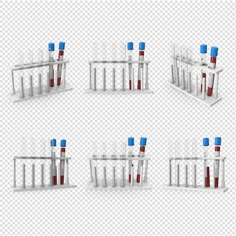 3d corona virus blutprobe isoliert