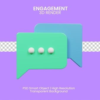 3d-darstellung engagement