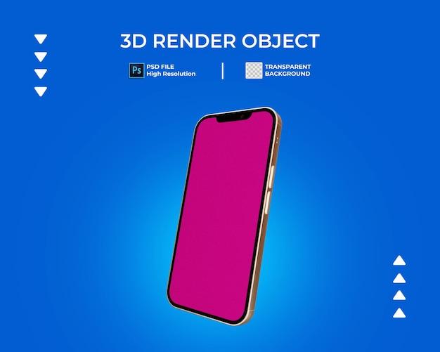 3d-darstellung von telefon
