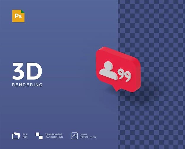 3d-darstellungsbenachrichtigung