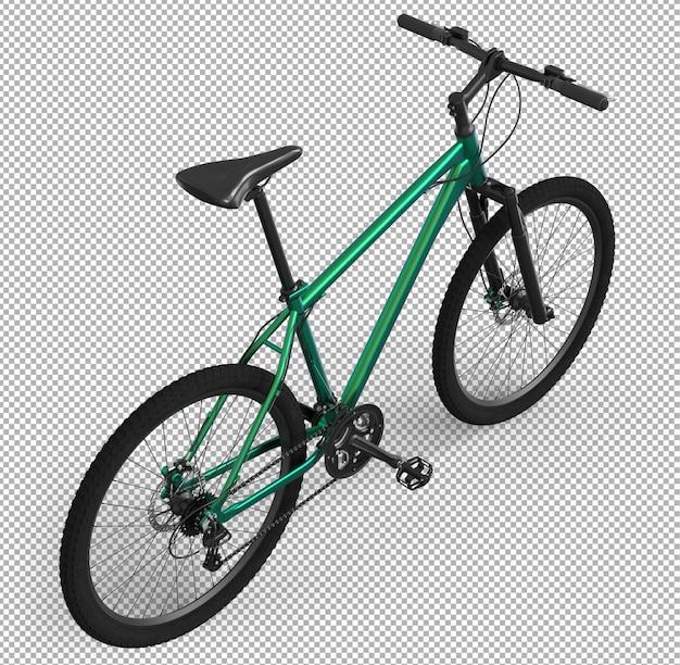 3d fahrrad isoliert.