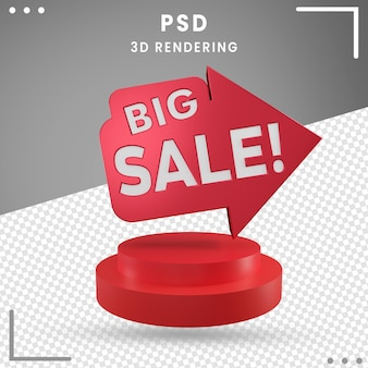 3d gedreht big sale rendering isoliert