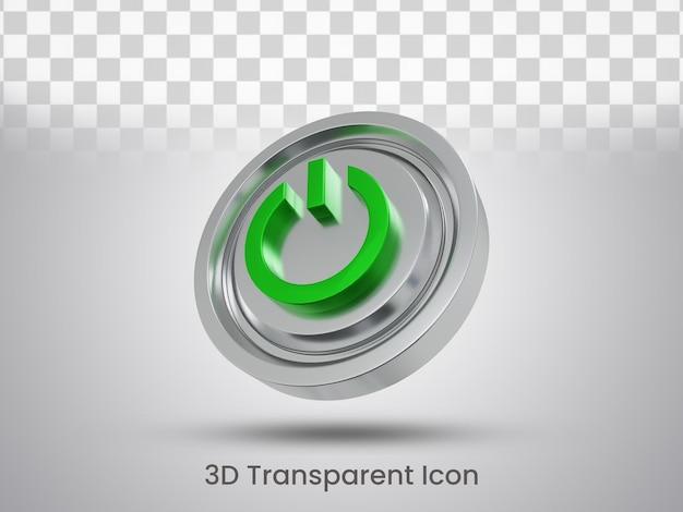 3d gerenderte whats app icon design ansicht von unten