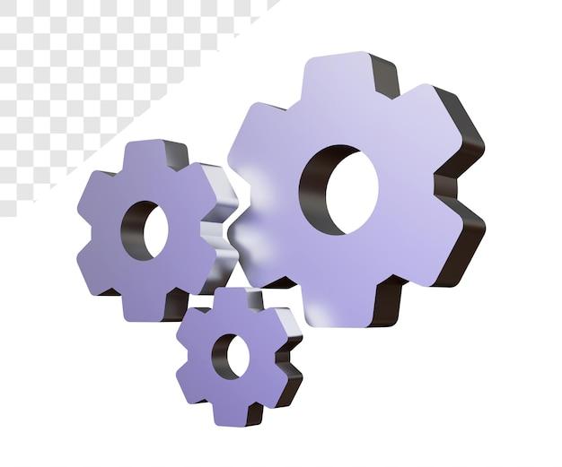 3d-getriebeeinstellung rendering isoliert rendering